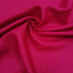 Лён  ВИШНЯ Сорочечная ткань